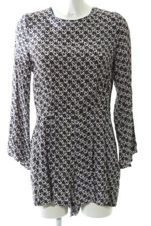 Zara Jumpsuit abstraktes Muster Casual-Look