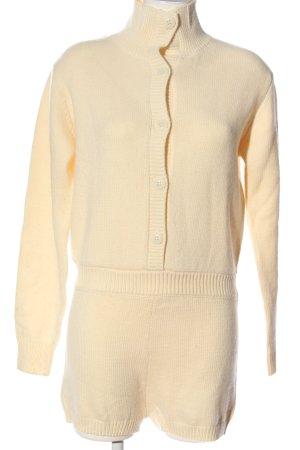 Zara Jumpsuit licht Oranje casual uitstraling