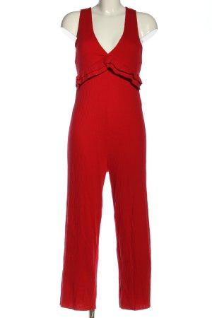 Zara Jumpsuit rot Elegant