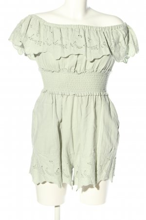 Zara Jumpsuit grün Casual-Look