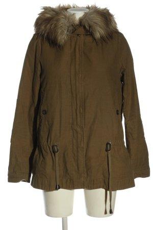 Zara Veste à capuche brun style décontracté