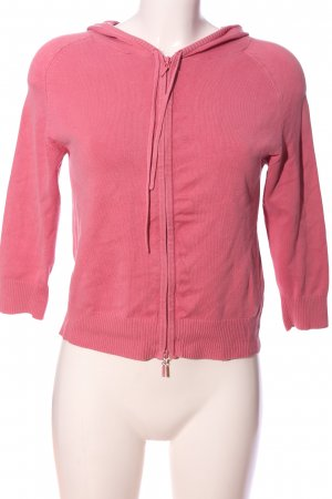 Zara Kapuzenpullover pink Casual-Look