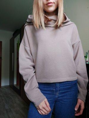Zara Kapuzenpullover/Pullover kürzer geschnitten in Gr. S