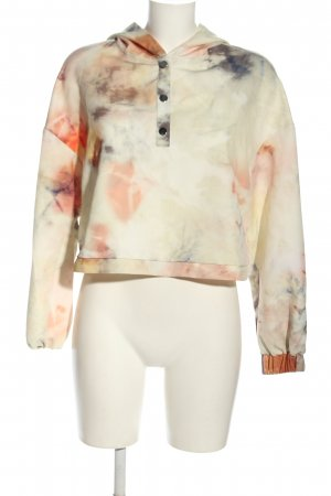 Zara Blusa con capucha estampado con diseño abstracto look casual