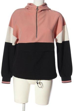 Zara Top à capuche multicolore style décontracté