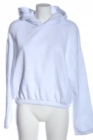 Zara Kapuzensweatshirt blau Casual-Look