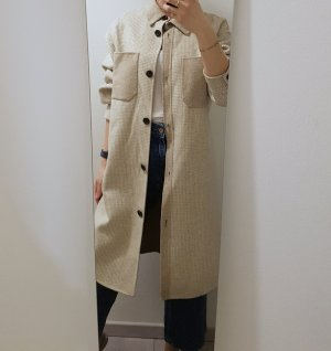 Zara Karrierte Jacke aus Wolle