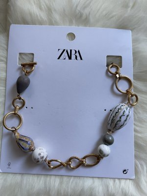 Zara Gold Chain gold-colored-natural white
