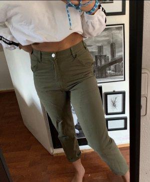 Zara Pantalone boyfriend multicolore