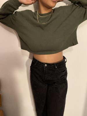 Zara Khaki Pullover