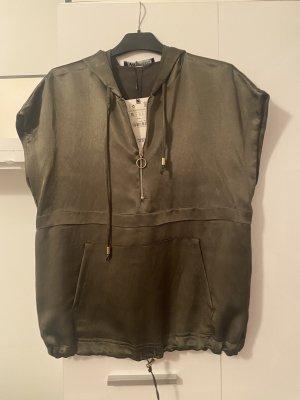 Zara Khaki Shirt S36 top neu