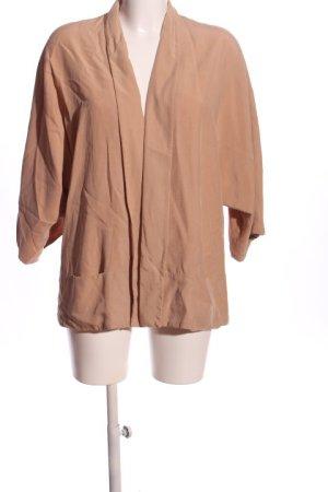 Zara Blusa kimono color carne stile casual