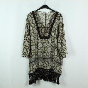 Zara Kimono-Bluse Gr. M braun geblümt (20/02/355*)