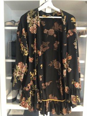 Zara Blusa kimono multicolore