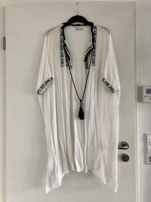 Trf by Zara Blusa kimono bianco