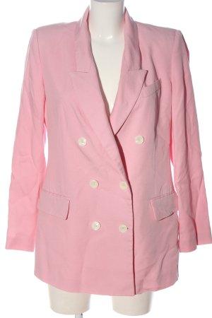 Zara Klassischer Blazer pink Casual-Look