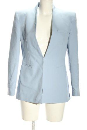 Zara Klassischer Blazer blau Elegant