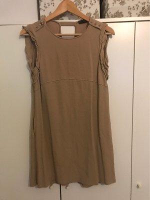 Zara Babydoll Dress beige