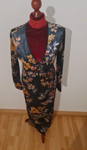 Zara Robe portefeuille multicolore polyester