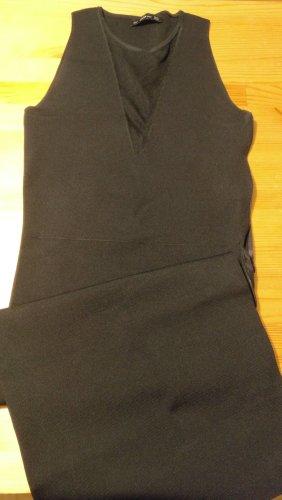 Zara Knit Falda estilo lápiz negro