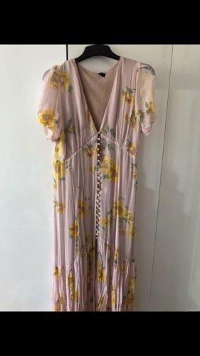 Zara Chiffon Dress pink