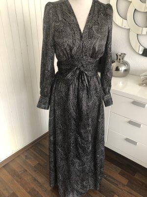 Zara Maxi Dress black-silver-colored