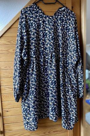 Zara Sukienka typu babydoll czarny Poliester