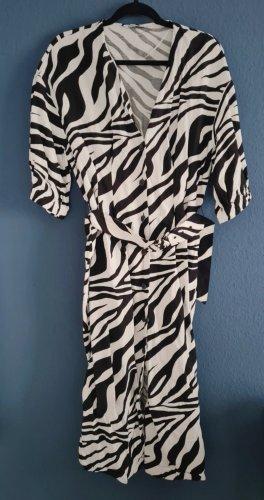 Zara Kleid Animalprint Zebra Gr. XL