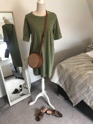 Zara Kleid aus festem Stoff