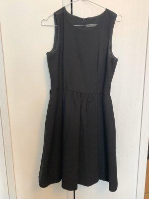 Zara kleid ausgestelltes Kleid schwarz s