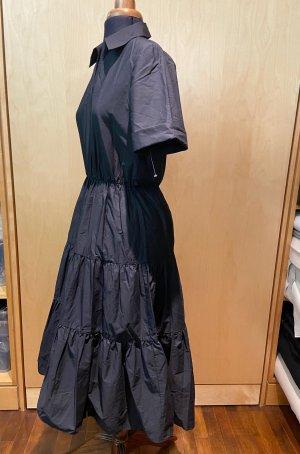 Zara Vestido con enagua negro