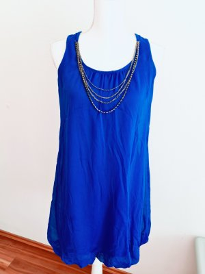 Zara Kleid Ballonkleid in blau Gr. S