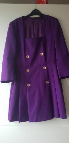 Zara kleid Blazerkleid Blazer-kleid lila lilac