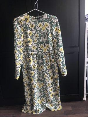 Zara Kleid Blumenmuster