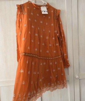 Zara Kleid Blusenkleid Blogger