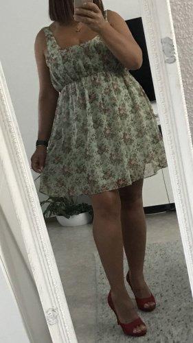 ♥️ Zara Kleid Blusenkleid Blumenprint L ♥️