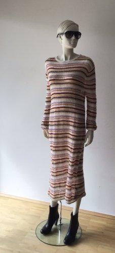 Zara Woman Vestido Hippie multicolor