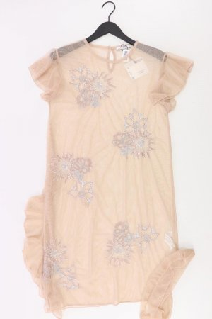 Zara Kleid creme Größe L