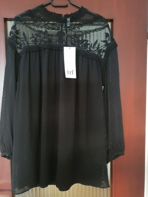 Zara Kleid Dress Mini Kleid Blogger new schwarz Kleid mit Spitzen