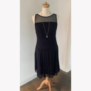 Zara Sukienka midi ciemnoniebieski