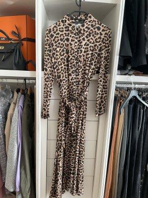 Zara Longsleeve Dress black-bronze-colored