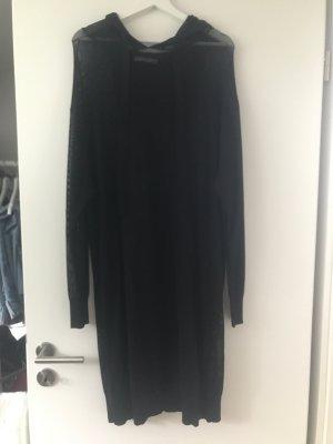 Zara Vestido con capucha negro