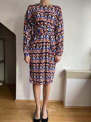Zara Kleid gemustert Gr S
