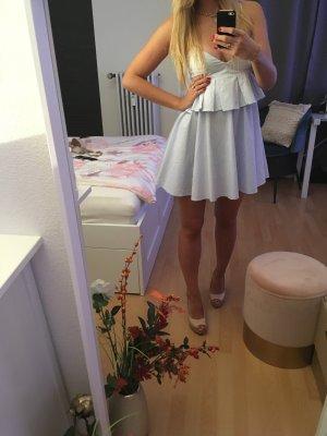 Zara Flounce Dress multicolored cotton