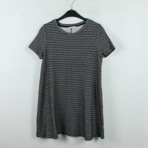 Zara Kleid Gr. L schwarz weiß gemustert (20/01/066)