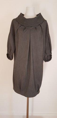 B/W Zara Collection Sukienka o kroju litery A ciemnoszary