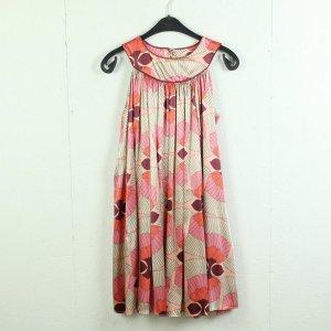Zara Vestido línea A multicolor Poliéster