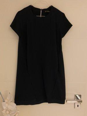 Zara Shortsleeve Dress dark blue