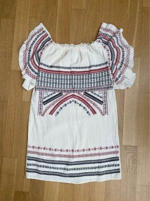 Zara Sukienka plażowa Wielokolorowy