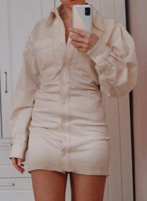 Zara Longsleeve Dress cream-oatmeal